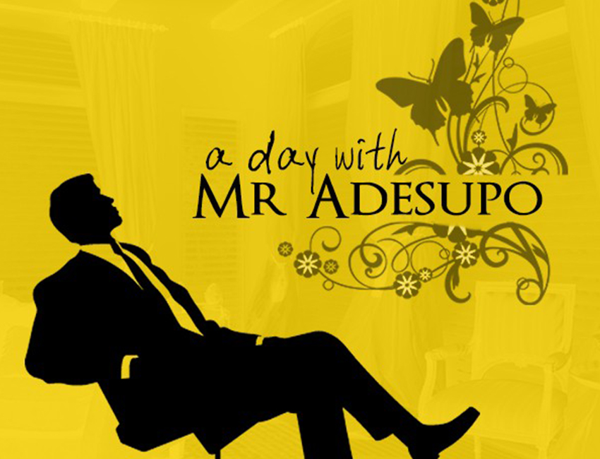 A day in Mr Adesupo's Bank
